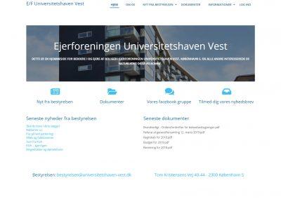 Universitetshaven-Vest.dk